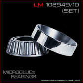 LM 102949/LM 102910 TAPERED BEARING SET