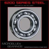 "6204 .750"" Bore Steel Bearing"