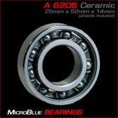 "6205-1"" Bore Ceramic Ball Bearing"