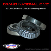 "Grand National 2 1/2"" Wheel Bearings"