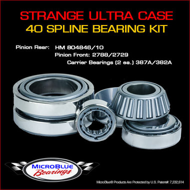 Strange 40 Spline Ultra Case Bearing Kit