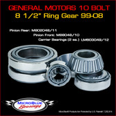 Chevrolet 10 Bolt Differential Bearings