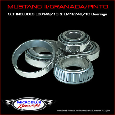 Complete Bearing Kit For Mustang II/Granada/Pinto Hubs
