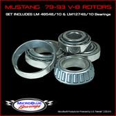 Mustang 79-93 w/ V-8 Rotors