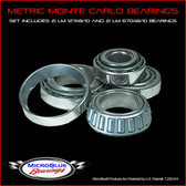Metric Monte Carlo Bearings