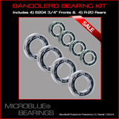 10% Off Ceramic Bandolero Wheel Bearing Kit (Front and Rear)