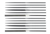 Teborg 12-pc Needle File Set, Medium, Item No. 33.908