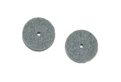 "Miniature Matte Finishing Wheel, 1"", Fine, Item No. 17.875"