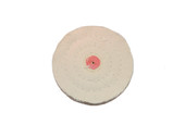 "Cotton Flannel Buff, 3"" x 30 Ply, Item No. 17.203"