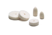Felt Wheel and Cone Assortment, Box of 24, Item No. 17.347