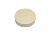 "Solid Felt Wheel Buff, 4"" x 1"", Item No. 17.437"