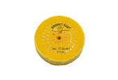 "Yellow Chemkote Buff, 3"" x 40 Ply, Shellac Center, Item No. 17.55101"