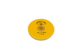 "Yellow Chemkote Buff, 4"" x 20 Ply, Leather Center, Item No. 17.55102"