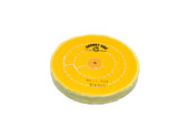 "Yellow Chemkote Buff, 5"" x 54 Ply, Shellac Center, Item No. 17.554"