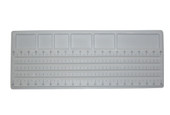 "Bead Board, 4-20"", Straight Channel, Item No. 38.124"