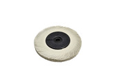 "3M 3-Radial Bristle Discs, 6"" Diameter, 120 Grit, White, Item No. 10.3532"