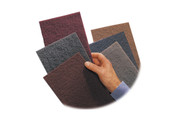 "3M Scotchbrite Pad, 6"" x 9"", Very Fine, Maroon, Item No. 10.304"