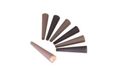 Paper Ring Shell Set, 6 Pieces and Wood Mandrel, Item No. 11.331
