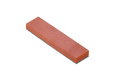 "Ruby Bench Stone, 4"" x 1"" x 3/8"", Fine Grit, Item No. 10.422"