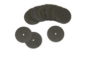 "Separating Disc, 7/8"" x .9"", Silicon Carbide, Box of 25, Item No. 11.900"
