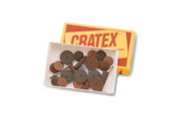 Cratex Assortment, 26 Pieces, Item No. 10.750