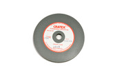 "Cratex Wheel, 4"" x 1/2"", Medium Grit, 1/2"" Arbor Hole, Item No. 10.938"