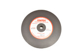 "Cratex Wheel, 6"" x 1/2"", Extra Fine Grit, 1/2"" Arbor Hole, Item No. 10.973"