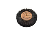 "Wood Hub Brush, 4 Rows of Bristle, 3"" Overall Diameter , Item No. 16.394"