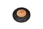 "Wood Hub Brush, 4 Rows of Bristle, 3-1/2"" Overall Diameter , Item No. 16.395"