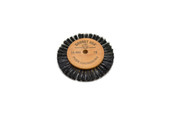 "Wood Hub Brush, 1 Row of Bristle, 2-7/8"" Overall Diameter , Item No. 16.404"