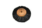 "Wood Hub Brush, 4 Rows of Bristle, 2-1/2"" Overall Diameter , Item No. 16.405"