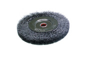 "Heavy Steel Wire Brush, 6"" Diameter , Item No. 16.470"