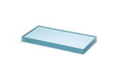 "Glass Slab, 6"" x 3"" x 1/2"", Item No. 27.220"
