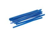 Blue Wax Wires, Square, Gauge 6, 2 oz. Box, Item No. 21.553