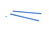 Cowdery Profile Wax, Flat Ribbon, 2 MM, Blue, Item No. 21.933
