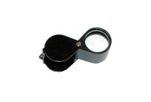 Diamond Cut 21.5 mm Black Loupe, Item No. 29.588