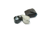 Grobet USA® 10X Illuminated Jewelers' UV and LED All-In-One Loupe, Item No. 29.615