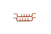 Ultrasonic Wire Ring Rack - 16 Rings, Item No. 23.625