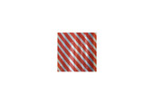 Foil Paper-Red & Silver Stripe, Item No. 61.076