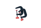 "Mascot 2"" Mini Clamps, Set of 2, Item No. H214"