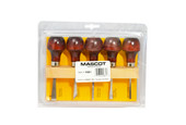 Mascot Woodworking Set, Palm-Grip Handles, Item No. H861