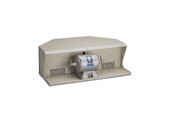 Grobet USA® Dust Collector with Sealed 1/4Hp Motor, Item No. 47.142