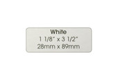 White Address Label, Item No. 60.217