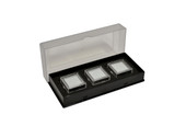 Gem Tray with 3 Boxes, Black, Item No. 61.466