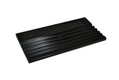 Grooved Sorting Tray, Black, Item No. 61.468