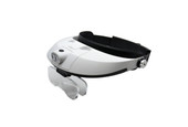 LED Illuminating Headband Magnifier, Item No. 29.568