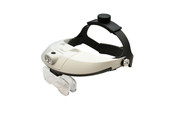 LED Illuminating Magnifier with Two Way Adjustable Headband, Item No. 29.569