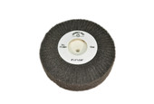 "Silicon Oxide Flap Wheels, Fine, 4"" x 1"", Item No. 17.801"