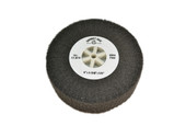"Silicon Oxide Flap Wheel, Ultra Fine, 4"" x 1-3/8"", Item No. 17.814"