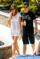 Anna Kosturova Marilyn Dress in White as seen on Miranda Kerr
